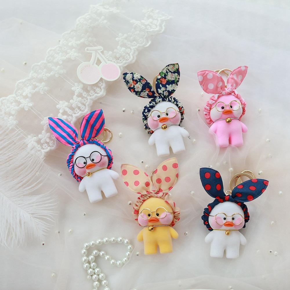 Kawaii-LaLafanfan-Cafe-Duck-Pendant-Keychain-Cartoon-Cute-Duck-Car-Decor-Animal-Dolls-Girl-Toys-Birthday (1)