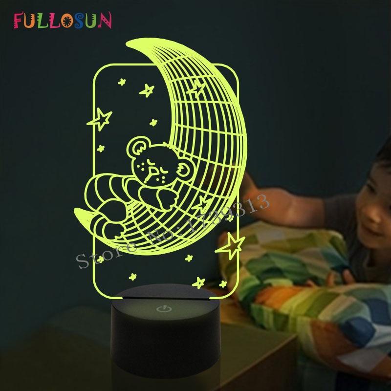 Table Lamp Lights Us16 For 5lovely 3d Shape Room Light Baby On Night 2982In Led Fs Fromamp; Lighting Bear Moon y8mwOPNn0v