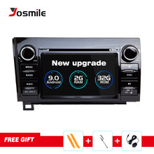Josmile 2 Din Android 9.0 Car DVD Player For Toyota Sequoia Toyota Tundra 2007 2008 2009 2010 2011 2012 2013Autoradio Navigation(China)