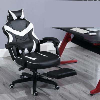 Image 5 - Gaming Chair Electrified Internet Cafe Pink Armchair High Back Computer Office Furniture Executive Desk Chairs Recliner-in Office Chairs from Furniture