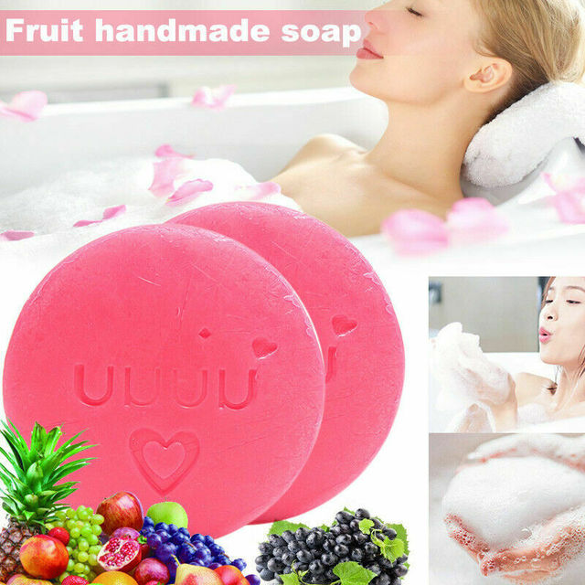 Handmade Instant Miracle Whitening Soap Natural Soap & Alpha Arbutin Skin Body Whitening Skin Care Oil Control