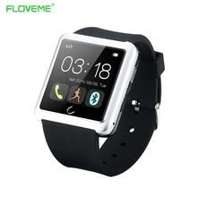 FLOVEME D2 Smart Uhr Männer Sport Armbanduhr SMS Sync Notifier Stoppuhr Schlaf-monitor Musik-player Pasometer Digitale Smartwatch-uhr-neue