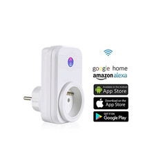 New Arrival Home Automation Wireless Smart Wifi Socket Multifunction Wireless Plug Power Supply Outlet for Google Alexa IFTTT
