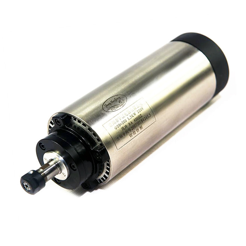 air cooling spindle motor, 800W air cooled spindle for engraving machine free shipping dc 200w spindle motor 0 2kw air cooling spindle motor er11 spindle motor
