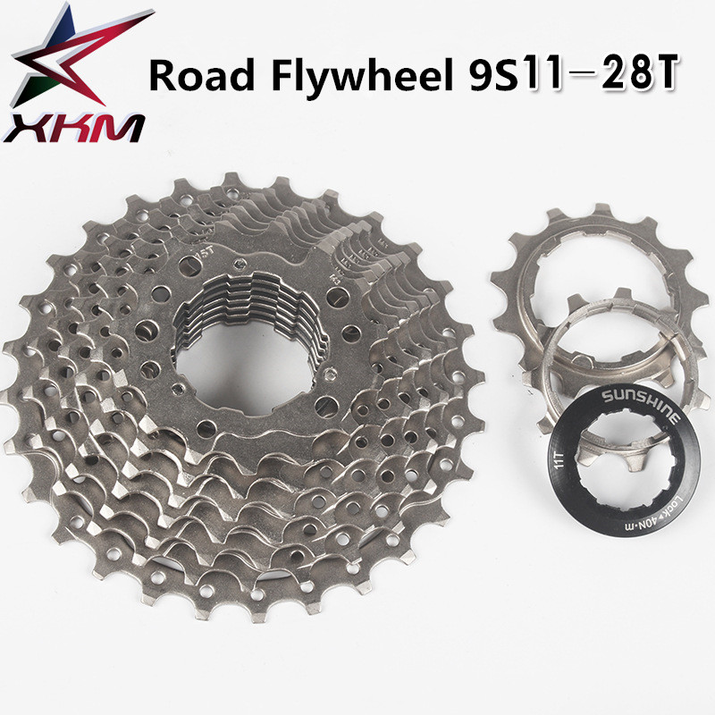 ZTTO 9 Speed Mountain Bike Cassette 9S 11-46T Bicycle Freewheels Fit SHIMANO