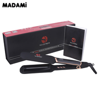 Infrared Technology Hair Care Straightener MCH Fast Heating Dual Plate LCD Display Tourmaline Creamic Less Damaged