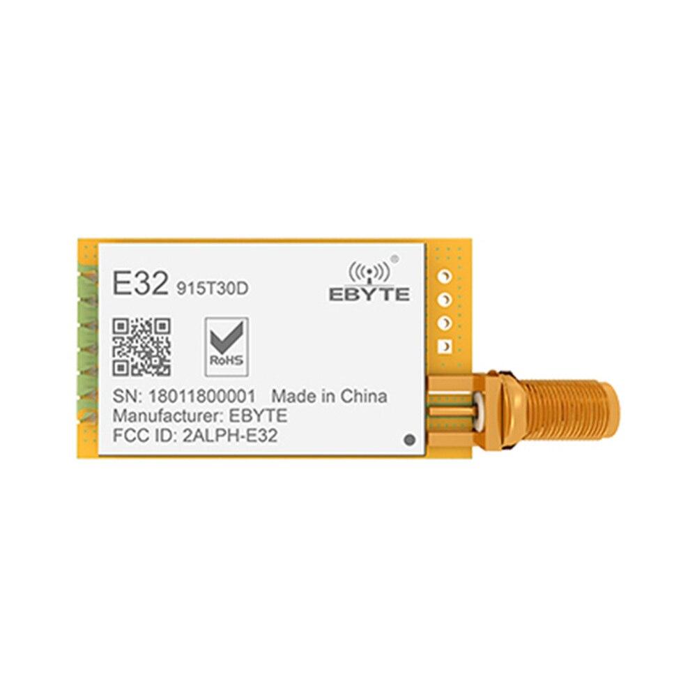 New Arrive E32-915T30D Lora Long Range UART SX1276 915mhz Wireless Transceiver Transmitter Receiver Module