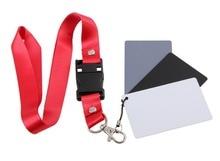 "Foto Cinza branco Preto Cinza Balance Card Set para Fotografia Digital (2 ""x 3"")"