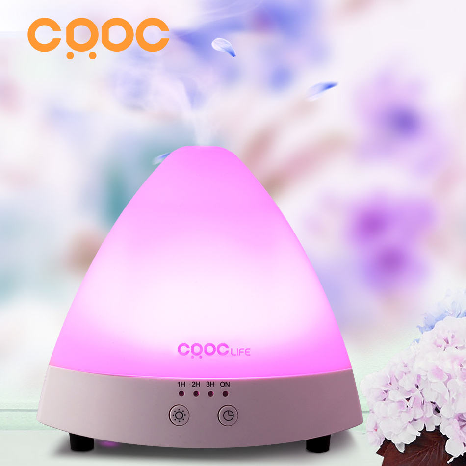 CRDC  80ML Essential Oil Diffuser Aroma Diffuser Ultrasonic Humidifier Mist Maker Aromatherapy Air Purifier for Office&Home new 300ml woodgrain essential oil aroma diffuser aromatherapy humidifier mist maker purifier 3 models