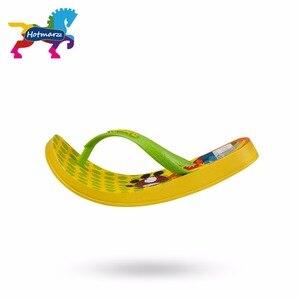 Image 3 - Suojialun dla dzieci klapki japonki Cartoon wzór kolorowe plaży sandały Slip On pantofle