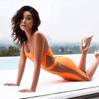 2017 donne sexy dalla fasciatura di bodycon dress orange nero senza spalline della maglia patchwork abiti di design per le signore