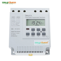 SINOTIMER AC 380V LCD Digital Multipurpose Three Phases Programmable Control Power Timer Switch High Power Time Relay Instrument