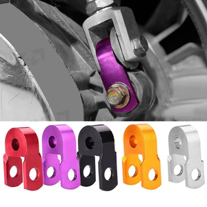 Image 2 - 1Pcs Motorcycle Shock Absorption Aluminum alloy Height Extender Suspension Riser Red/Purple/Black/Gold/Silver