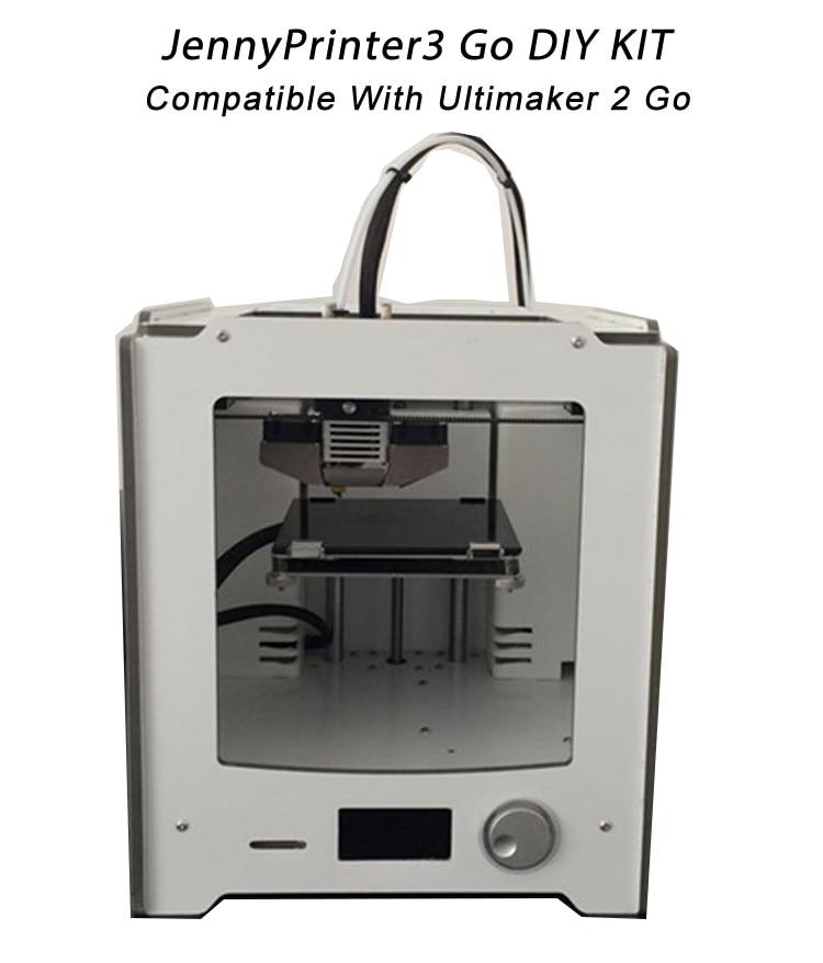 buy newest jennyprinter 3 go diy kit perfect compatible with ultimaker 2 um2. Black Bedroom Furniture Sets. Home Design Ideas