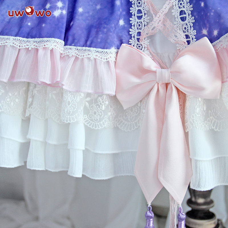 Image 5 - UWOWO Anime Sakura Card Captor Cosplay Tomoyu Daidouji  Doujin Costume Women Halloween Cosplay Girls Kawaii Costume CardCaptor-in Anime Costumes from Novelty & Special Use