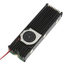 JEYI Cooling Warship Fan NVME NGFF M.2 Heatsink 2280 ssd Metal Sheet Thermal Conductivity Silicon Wafer