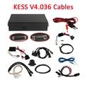 2015 No Token Limitation KESS V2.13 V2.15 V2.23 Cables Without Master OBD2 Manager Tuning Kit KESSV4.036 Cables Ecu Chip Tunning