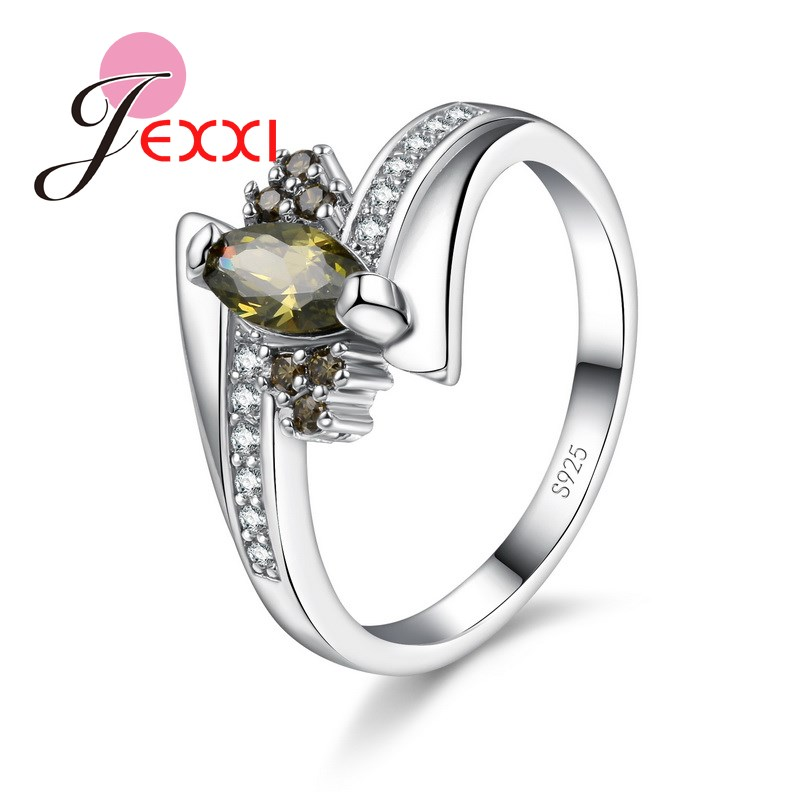 PATICO Silver Rings For Women With Stones