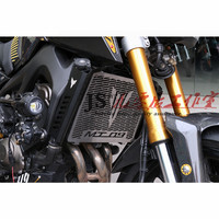 For Yamaha MT09 MT 09 FZ09 FZ 09 20132014 2015 2016 Motorcycle Accessories CNC Radiator Covers