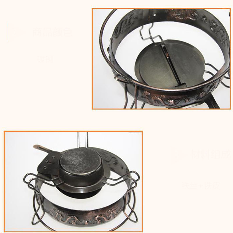 Stainless Steel Non-Stick Dish Hotpot 5