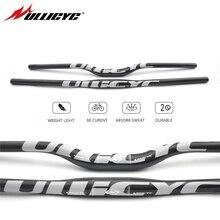 Ullicyc كامل الكربون الألياف المقود 3K دراجة MTB المقود شقة/الارتفاع الفضة أجزاء الدراجة 31.8*600/620/640/660/680/700/720 CB186