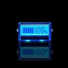 Синий свет ЖК-дисплей Батарея Ёмкость монитор Батарея тестер литиевая Батарея Количество детектор свинцово-кислотная Батарея индикатор состояния