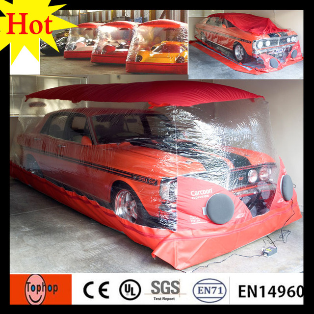 New Arrival Xxm Indoor Inflatable Heated Hail Protection Car - Show car cover
