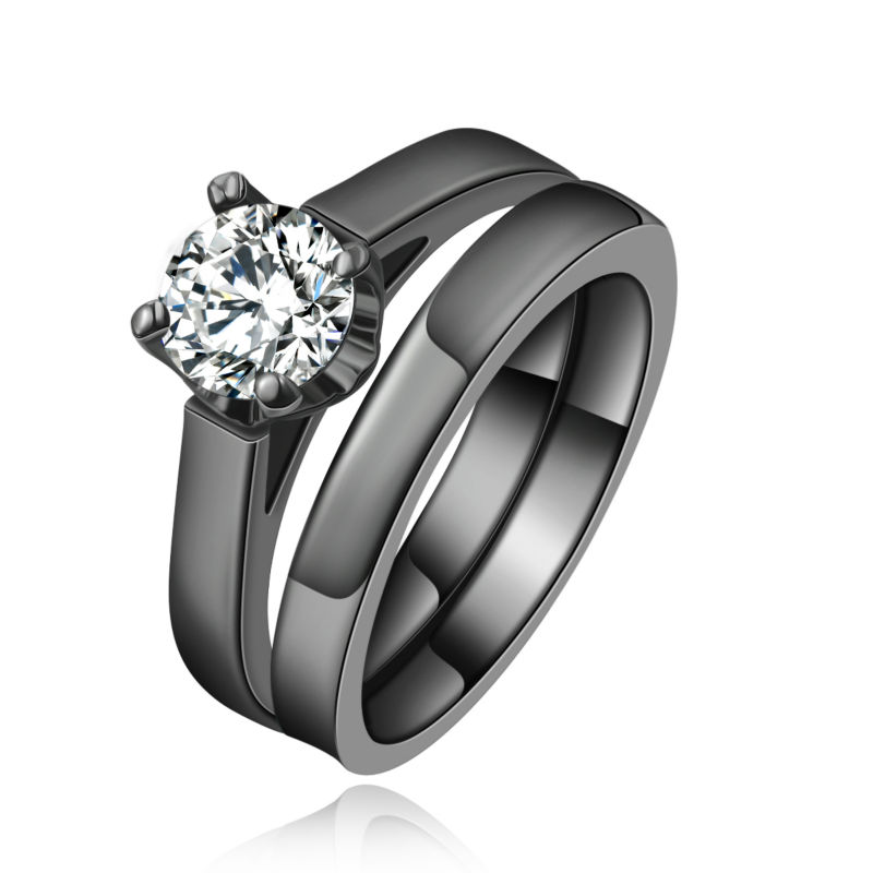 line Get Cheap Simple Wedding Ring Set Aliexpress