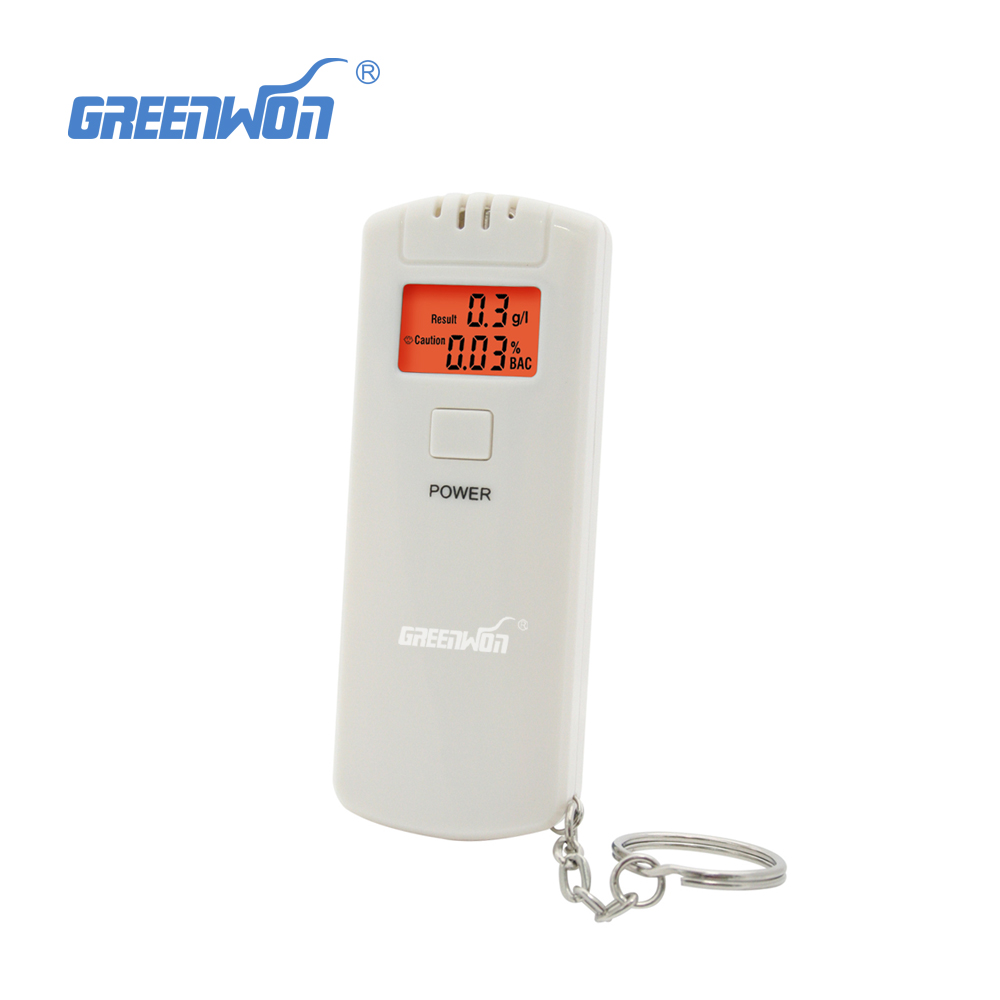64S wholesale cheap and nice mini personal gift breath alcohol tester alcometer with digital lcd display image