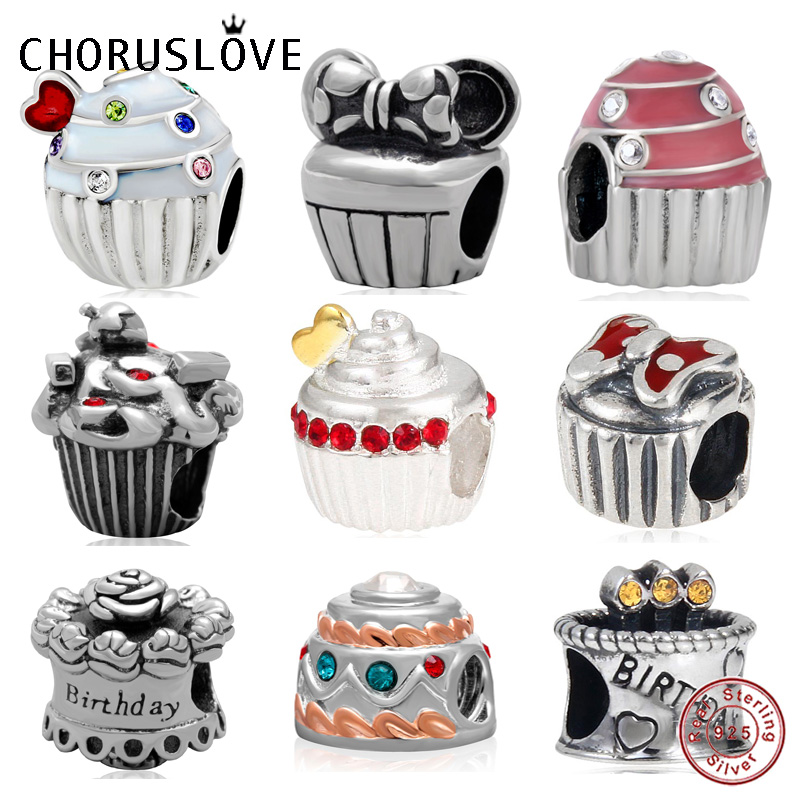 Miraculous Choruslove Happy Birthday Cake Charm 925 Sterling Silver Heart Birthday Cards Printable Opercafe Filternl