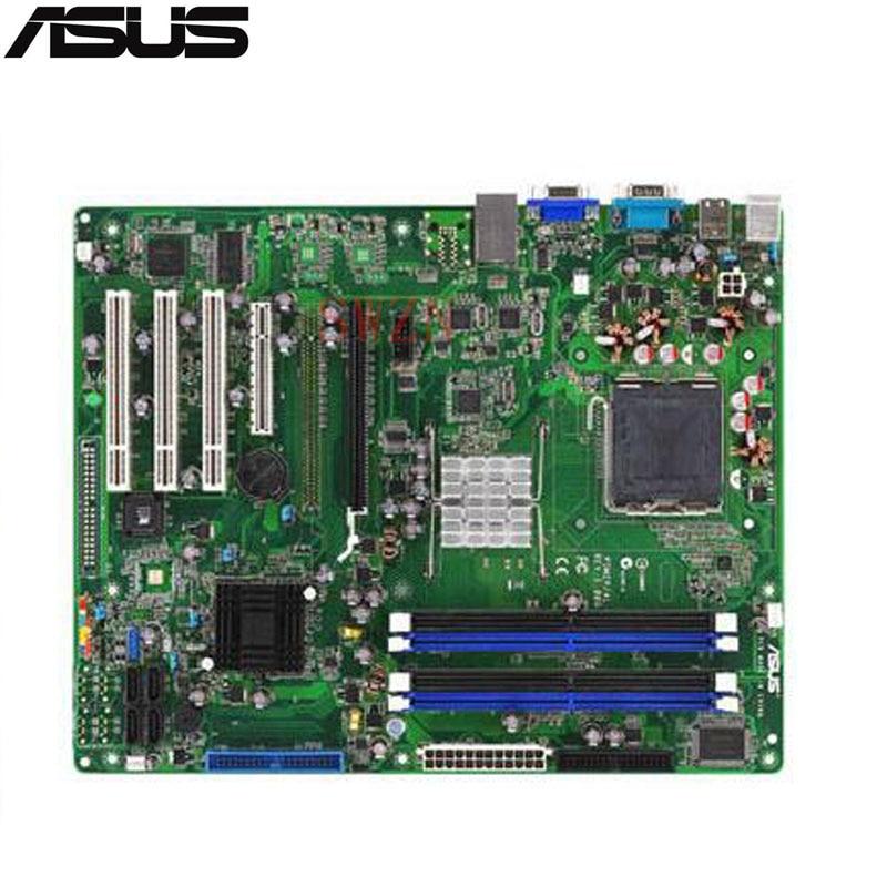 все цены на original Used Server motherboard For Asus P5M2-E Socket 775 Maximum 4*DDR2 8GB 4xSATAII ATX онлайн