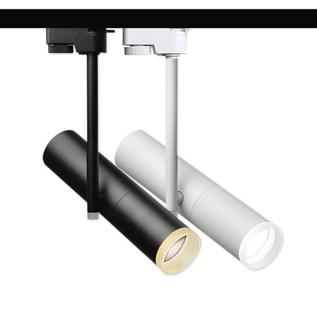 3w 5w 7w 10w 12w Led Track Light Rail Lamp High Cob Leds Backdrop Decorative Lighting Fixture Spot