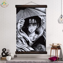 Naruto Shippuuden Anime Single Modern Wall Art Print Pop Picture And Poster Framed Hanging Scroll Canvas Painting Home Decor