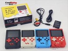 Q6 Jogo Handheld Consola sem Saída AV Máquina de Jogos gamepad 800 mAh Bateria Embutida 129 Jogos Clássicos Com 2.4 polegadas tela de Exibição