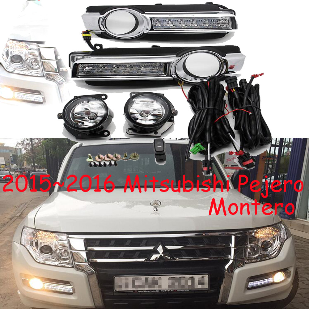Montero,LED,2015~2016 Mitsubishe Pajero daytime Light,Pajero fog light,Pajero headlight,Endeavor,ASX,3000GT,Expo,Eclipse,verada бачок гур pajero io владивосток