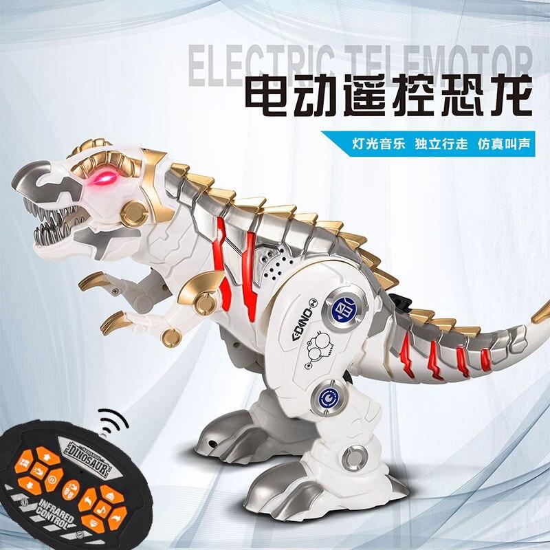 Intelligent Remote Control Dinosaur Model Simulation Mechanical Toy Pet Toys for Children