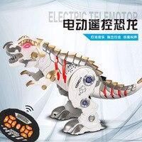Intelligent Remote Control Dinosaur Model Simulation Mechanical Dinosaur Toy Pet Model Dinosaur Toys for Children
