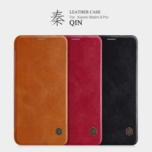 For Xiaomi Mi 9 PRO 5G Case Nillkin Qin Vintage Leather Flip Cover Mi A3 Cover Wallet Bag For Mi 9 Lite cc9 cc9e Cases