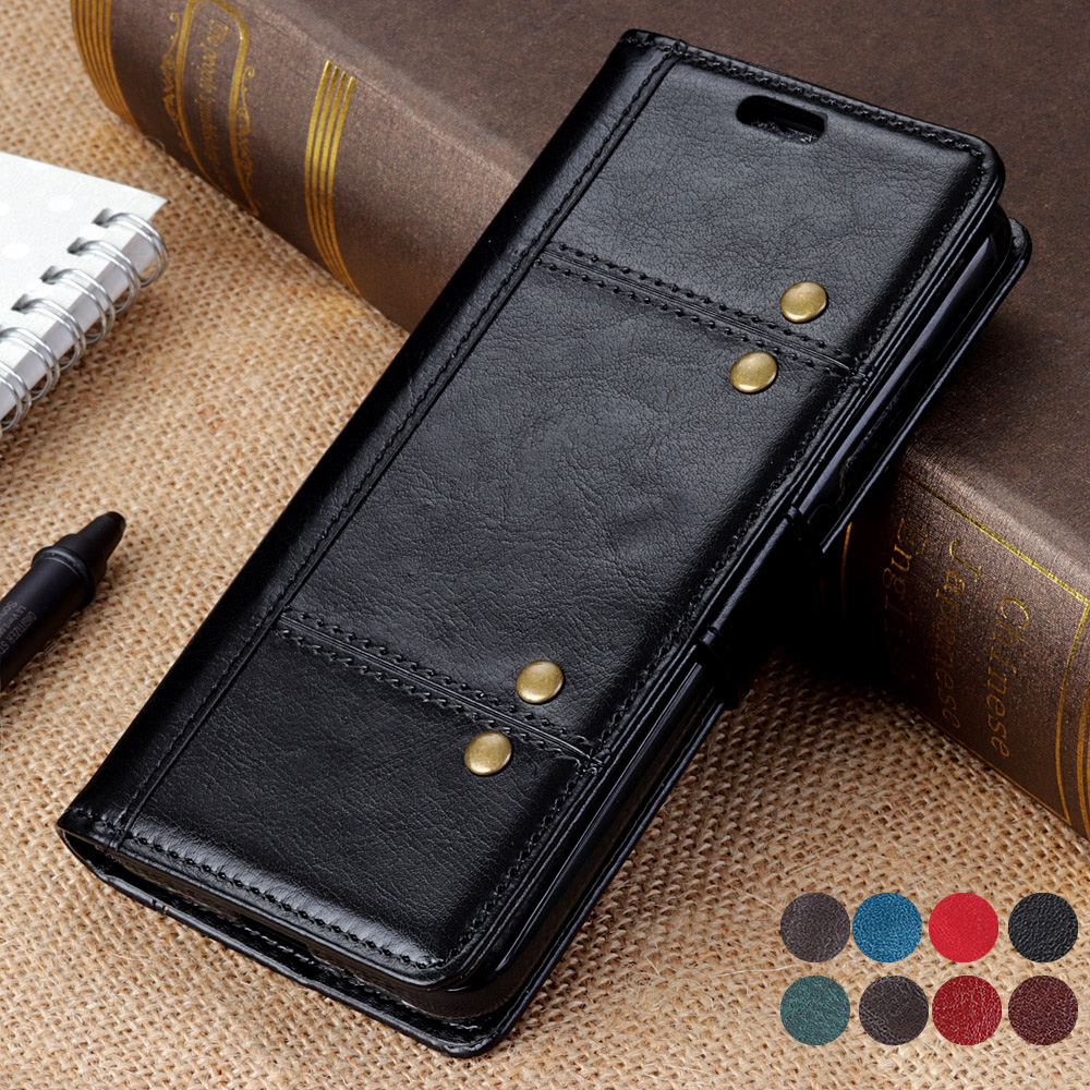 5.3'' Flip Leather Phone Etui for LG K10 <font><b>2018</b></font> Case Leather Wallet 360 Full Protective Cover for Coque LG K <font><b>10</b></font> <font><b>2018</b></font> Defend Case image