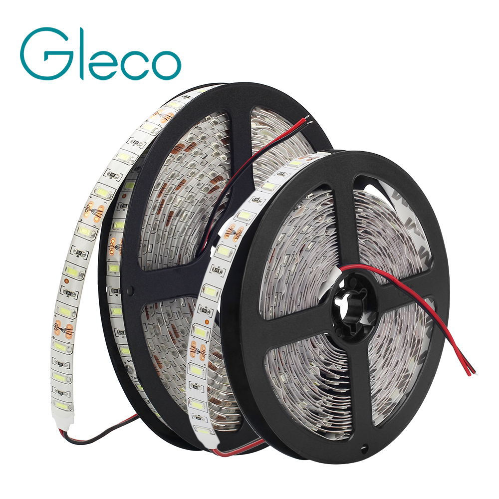 DC12V LED Strip 5730 SMD 60LEDs/m 5M IP20 / IP65 Waterproof LED Flexible Light Brighter Than 5050 5630