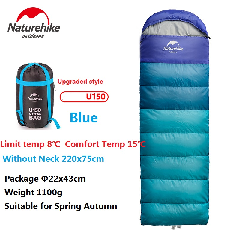 Naturehike Factory Outdoor travel sleeping bag spring Autumn winter warm portable camping adult indoor noon break sleeping bag - 3