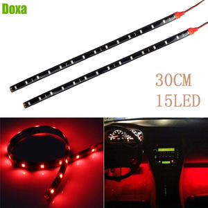 DOXA 30 CM 3528 SMD 15 LED Strip Light Car Motorcycle Atmosphere Decorative Lamp