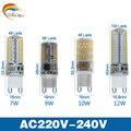 Lowest price 2017 Newest 220V G9 G4 LED Lamp led Lampada LED g4 g9 Bulb 360 Beam Angle Lights 2835 3014 4014SMD led corn bulbs