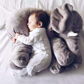 Plush elephant toy kids sleeping back cushion elephant doll baby doll plush animal birthday gift dieren