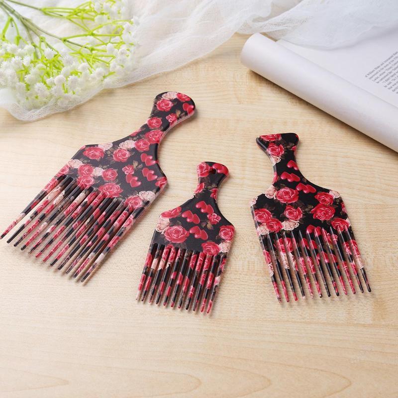Расческа-вилка для волос, расческа с широкими зубцами, 1 шт.