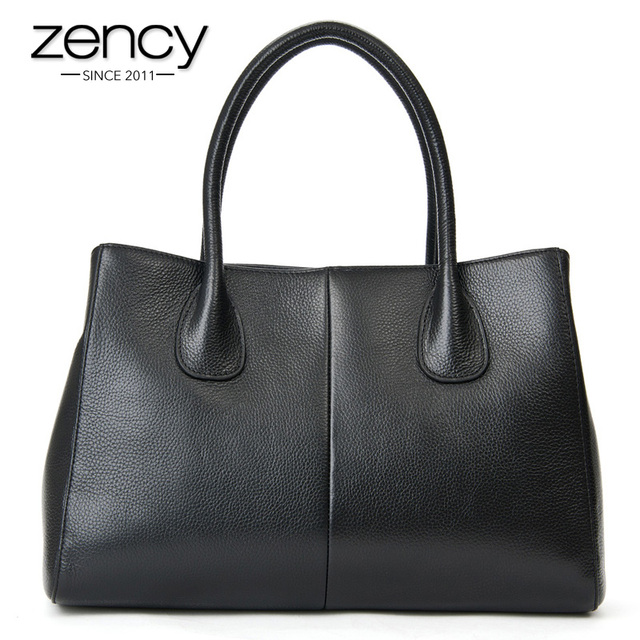 Free Fast Shipping, Genuine Leather Women Bag Ladies Handbag OL Tote Bag Real Leather Lady Bags