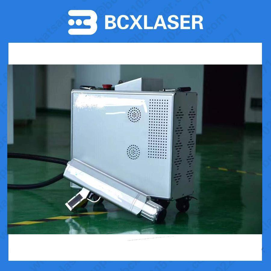 2018new desigh Laser cleaning machine laser rust removal machine 100W 200W for rust remove