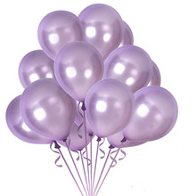 METABLE 100PCS 12 Inch Pastel Lilac Thick Latex Balloon Bulk Party Supplies for Wedding Bridal Baby Shower Birthday Decorations