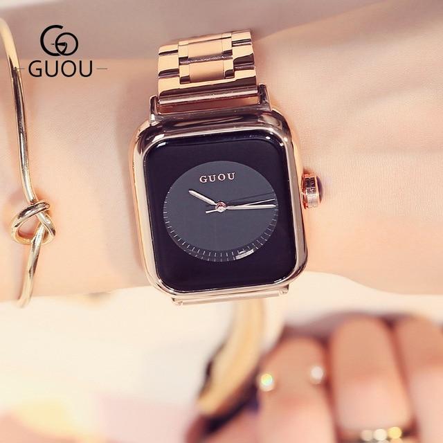Luxury Stainless Stylish Female watch 3