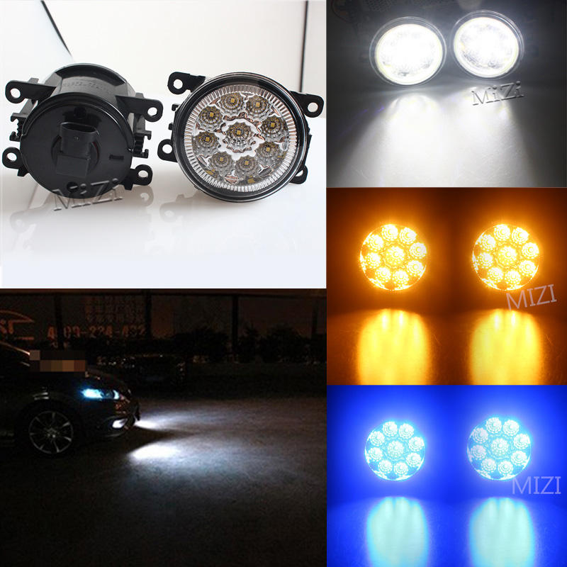 1 Pair Fog Lamps LED Lights DRL Lighting For FORD TRANSIT TOURNEO TRANSIT CUSTOM FOCUS MK2/3 Platform Chassis FUSION Car-styling ветровики skyline ford transit tourneo custom 12 комплект 2 шт